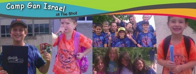 Camp Gan Israel with The Shul | Register your child today!